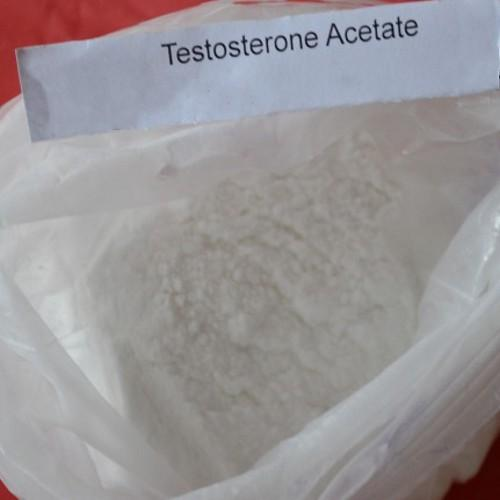 Oral Muscle Gain Testosterone Acetate Steroid Hormone 99% Test Ace CAS 1045-69-8
