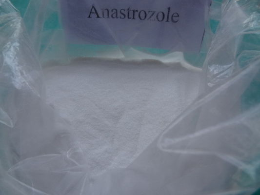 China CAS 120511-73-1 Anastrozole Arimidex Raw Steroids White Powder supplier