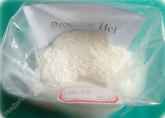 China Procaine Hcl Pharmaceutical Raw Material Local Anesthetic Reduce Pain Procaine supplier