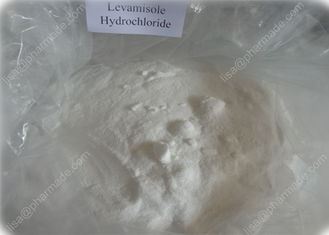 China Levamisole HCL Anthelmintic Agent in Livestock Levamisole Hydrochloride Raw Madicine supplier