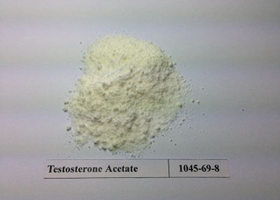 China Oral Muscle Gain Testosterone Acetate Steroid Hormone 99% Test Ace CAS 1045-69-8 supplier