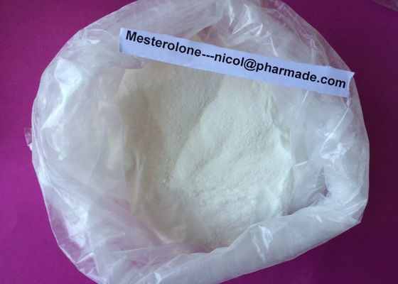 China Mesterolone Raw Testosterone Powder Proviron Hormone Steroid Stacks supplier