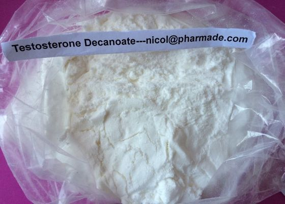 China Testosterone Decanoate Raw Testosterone Powder Anabolic Steroid Hormone For Gain Muscle supplier