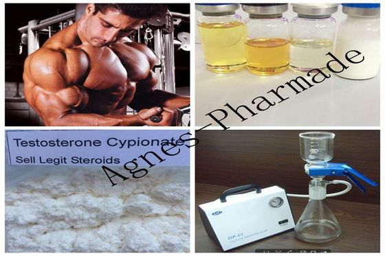 China Test Cypionate 250mg/ml Legal Injectable Steroids Test Cyp 250 Muscle Gainning supplier
